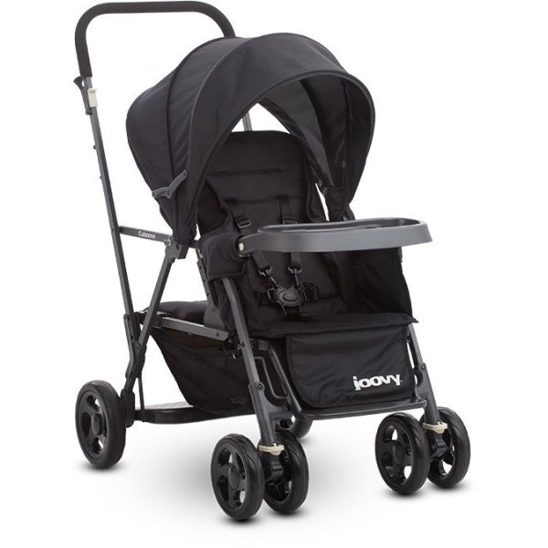 Joovy Caboose Graphite (Black) - Double Stand-on Tandem Stroller Singapore