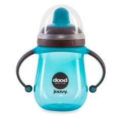 Discount Joovy Dood Training Cup 7Oz 220Ml With Insulator Colour Turquoise Item No 287 Singapore