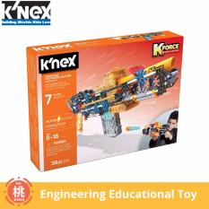 Knex K-Force – Flash Fire Motorized Blaster Building Set – 288 Pieces – Engineering Education Toy By Momo Accessories.