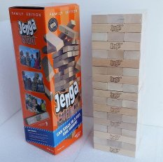 Kid Wooden Toy Big Jenga Building Blocks Intl Review