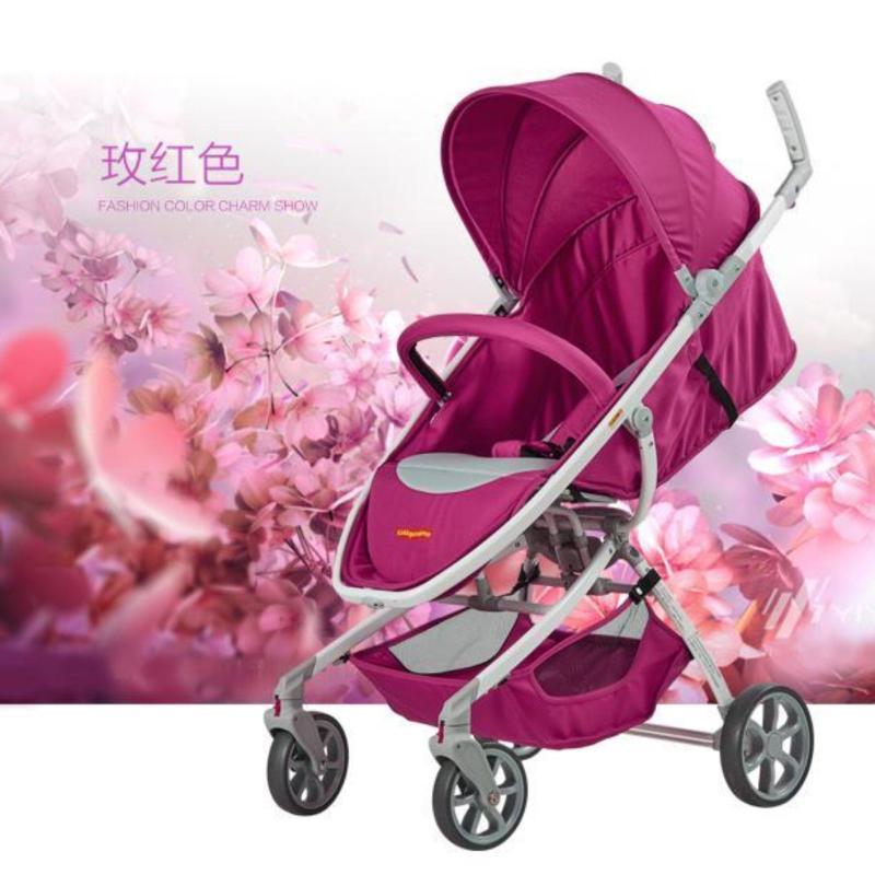Kiddo 6.4kg Stroller / Pram (Pink) Singapore