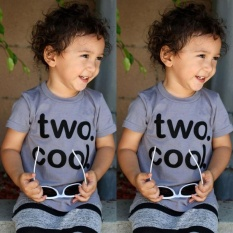 Kids Baby Boy 2nd 2 Year Old Birthday Party Shirt T Top Blouse Tee