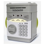 Best Rated Kids Piggy Bank Atm Machine Notes Coins Saving Box Electronic Money Safe Box Password Saving Totoro Intl