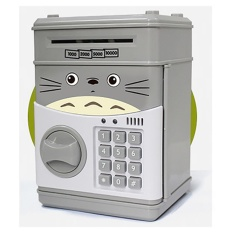 How To Get Kids Piggy Bank Atm Machine Notes Coins Saving Box Electronic Money Safe Box Password Saving Totoro Intl