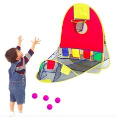 Kids Toys Portable Balls Pool With Hoop Outdoor Play Tent Pit - Intl By Dreamsbrand.