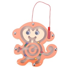 Kids Wooden Puzzle Children Magnetic Maze Toy Intellectual Jigsaw Board - Intl By Welcomehome.
