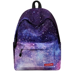 Kobwa Fashion Printed Backpack Cute For School Lightweight Women Backpack College Student School Backpack (starry Sky) - Intl By Kobwa Direct.