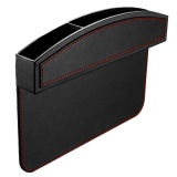 Compare Kobwa Kobwa Car Seat Side Pocket Pu Leather Car Seat Console Side Anti Drop Gap Filler Storage Catcher Intl Prices