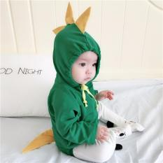 Best Buy Kor090 Baby Toddler Girls Boys Unisex Hooded Dragon Romper Hoodie