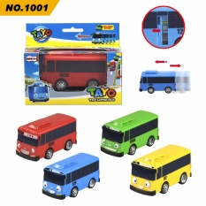 Korea Tayo Toy Bus Taxi Back Car Parking Lot Set Road Bus Ejection Intl On China