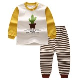 Price Lalang Baby Pyjamas Sets Long Sleeve Top Pants Children Underwear Boys Girls Sleepwear Suit Intl Lalang New
