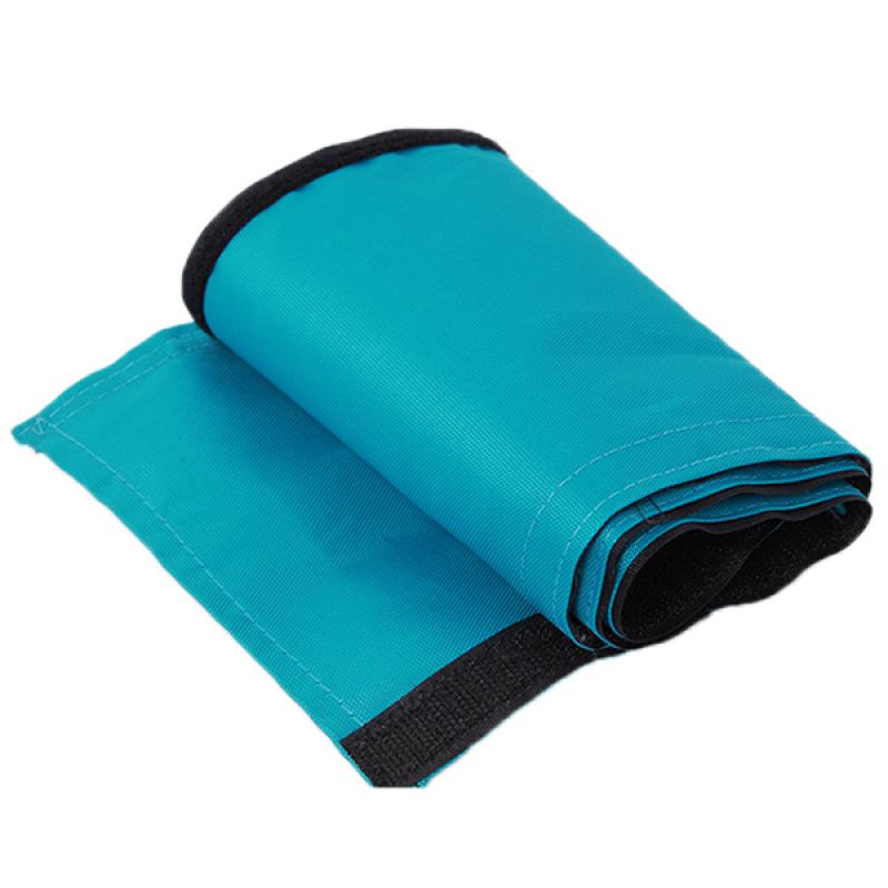 LALANG Baby Stroller Armrest Cover Velcro Washable (Blue) Singapore