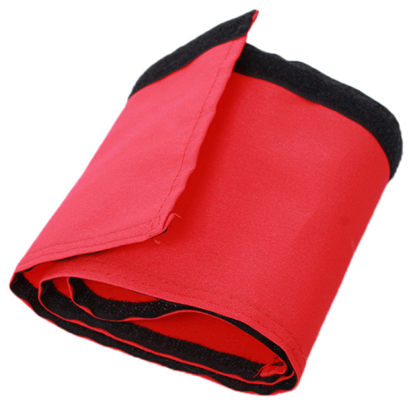 LALANG Baby Stroller Armrest Cover Velcro Washable (Red) Singapore