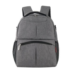 Buy Large Capacity Mummy Baby Diaper Nursing Backpack Gray Intl Online China
