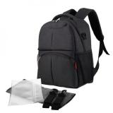 Sale Large Capacity Mummy Maternity Backpack Multi Functional Baby Diaper Nursing Bag Charcoal Intl Oem Cheap