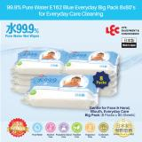 Lec 99 9 Pure Water E244 Blue Everyday For Gentle Care Wet Wipes Big Pack 8X80 S Cheap