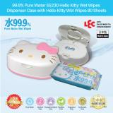 Price Comparisons For Lec 99 9 Pure Water Ss230 Hello Kitty Wet Wipes Dispenser Case With Wet Wipes 80 Sheets