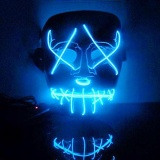 How Do I Get Led Light Up Flashing Skull Mask Skeleton Halloween Cosplay Intl