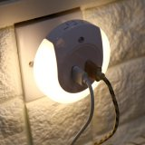 Led Night Light Dusk To Dawn Sensor With Dual Usb Wall Plate Charger For Bedroom Us Plug Intl Oem Discount