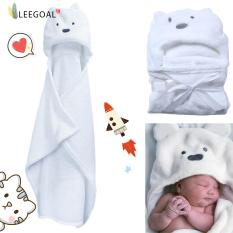 Leegoal 3d Bear Baby Infant Newborn Hooded Bath Towel Blankets - Intl By Leegoal.