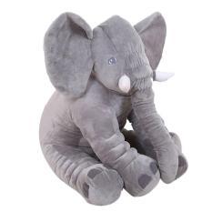 Brand New Leegoal Baby Kids Toddler Stuffed Elephant Plush Pillow Cushion Soft Nursery Toy Doll For Girls Children Gifts Grey