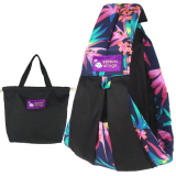 Purchase Leegoal Cotton Baby Slings And Wraps Carrier For Newborns And Breastfeeding Black Decorative Design