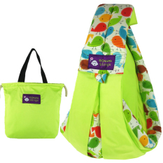 Leegoal Cotton Baby Slings And Wraps Carrier For Newborns And Breastfeeding, Green By Leegoal.
