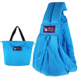 Best Buy Leegoal Cotton Baby Slings And Wraps Carrier For Newborns And Breastfeeding Sky Blue