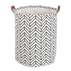 Leegoal Large Storage Bin, Cotton/canvas Storage Basket With Handles For Nursery Or Kids Room- Toy Box/ Toy Storage/ Toy Organizer For Boys And Girls - Laundry Basket/ Nursery Hamper - Intl By Leegoal.