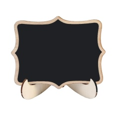 Leegoal Mini Creative Wooden Chalkboard Blackboard - Flower Shaped - Intl By Leegoal.