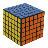 Price Comparisons Leegoal Shengshou 6X6X6 Pvc Sticker Brain Toy Rubik S Cube Puzzle Cube Black