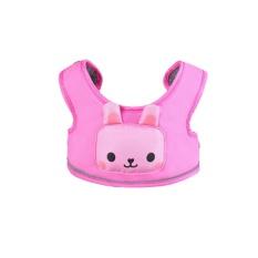 Leegoal Toddler Walking Safety Harness, Kobwa 3 In 1 Adjustable Basket Type Kids Childs Walking Rein Leash Strap Belt Keeper(pink) - Intl By Leegoal.