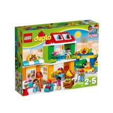 Lego 10836 Duplo Town Town Square Cheap