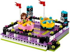 Review Lego 41133 Friends Amusement Park Bumper Cars Lego