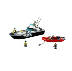 How Do I Get Lego 60129 City Police Police Patrol Boat