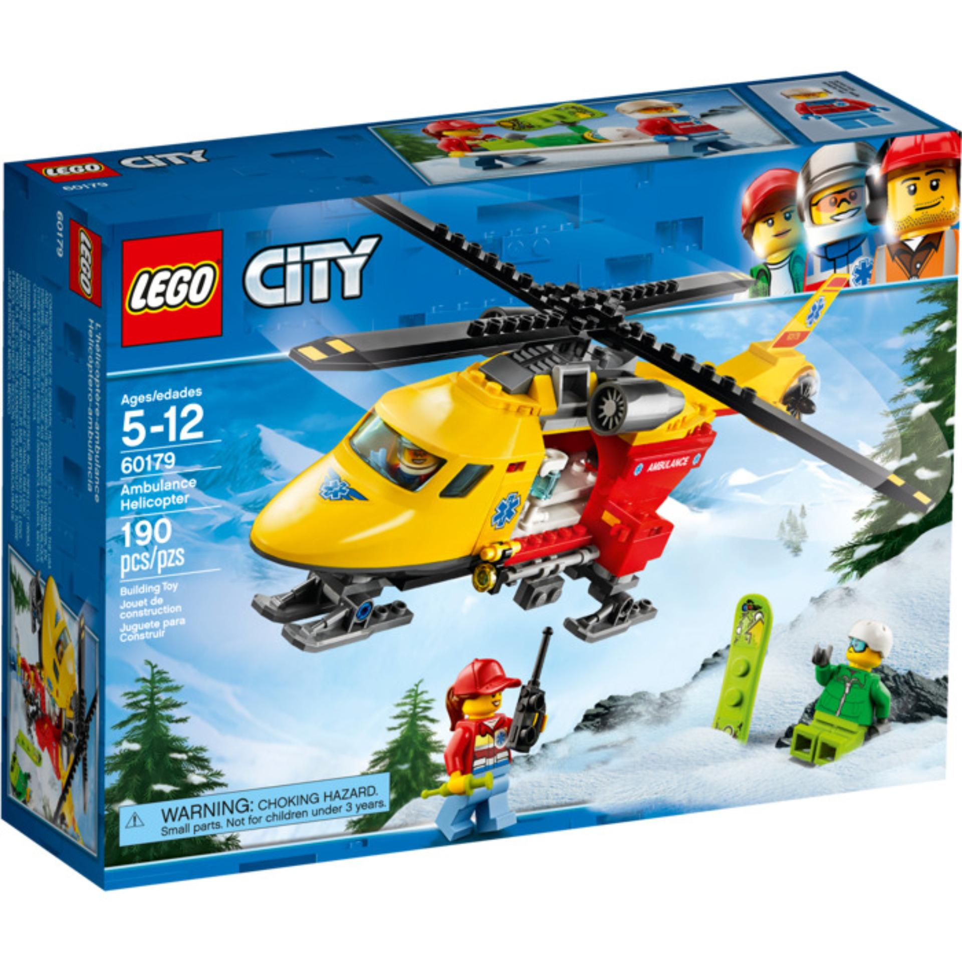 Lego City Jungle Explorers Cargo Helicopter 60158 Price In 10720 Juniors Police Chase 60179 Ambulance