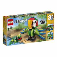 Price Lego Creator Rainforest Tropical Animals 31031 Lego Original