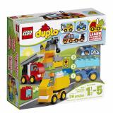 Buy Lego Duplo 10816 My First Cars And Trucks Educational Preschool Toy Building Blocks For Your Toddler