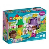 New Lego Duplo Brand Disney 10605 Doc Mcstuffins Rosie The Ambulance Building Kit Intl