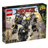 Review Lego70632 Ninjago Movie Quake Mech Lego
