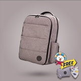 Lekebaby Diaper Bag Large Capacity Waterproof Scratch Resistant Backpack Grey Promo Code