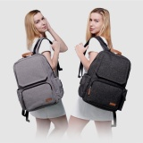 The Cheapest Lekebaby Fashion Baby Nursing Changing Diaper Bag Large Capacity Dad Backpack Grey Online