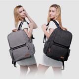 Get Cheap Lekebaby Fashion Baby Nursing Changing Diaper Bag Large Capacity Dad Backpack Grey