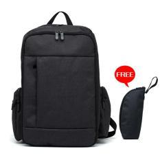Retail Super Large Capacity Diaper Backpack Dad Bag Black