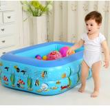 Buy Leyi Inflatable Swimming Pool For Children 120 90 35Cm Intl Online China