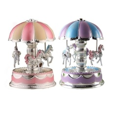 Light Merry-Go-Round Music Box Toy - Intl By Welcomehome.