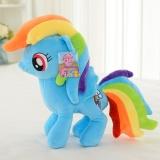 Sale Little Pony Horse Figures Stuffed Plush Doll Toy Gift Twilight Sparkle New Intl