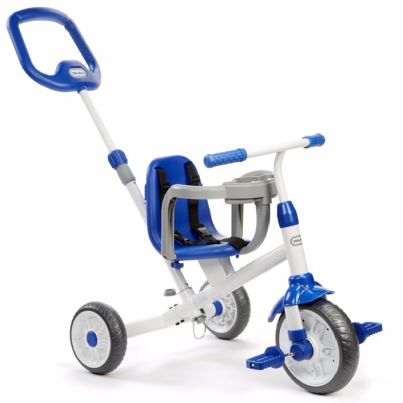 Little Tikes RIDE N LEARN 3-IN-1 TRIKE BLUE Singapore