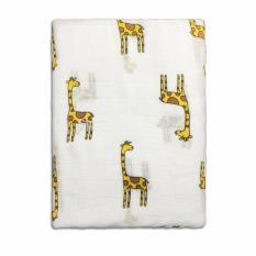 Littlejump Organic Cotton Muslin Receiving Blanket Newborn Baby Swaddling Blanket 47 X 47 Girafe For Unisex Intl Price Comparison