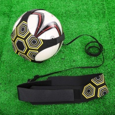 Lixada Solo Soccer Trainer Soccer Ball Kick Training Practice Assistance Trainer Adjustable Belt - Intl By Tomtop.